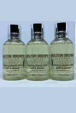 Molton Brown Vitalising Vitamin AB+C Bath & Shower Gel 3x 50ml