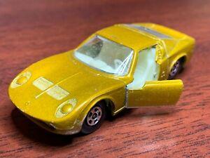 Matchbox Superfast No 33 Lamborghini Miura Gold  Lesney Car