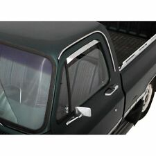Auto Ventshade Side Window Visors Ventshades SnapIn Stainless Polished Chevy GMC