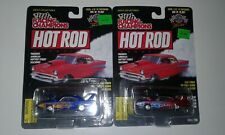 Racing Champions Hot Rod Magazine Issue #18 &  #22 '70 Plymouth Superbirds