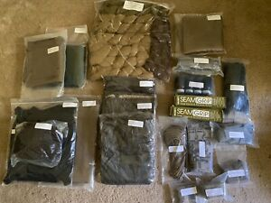 Ghillie suit w/ rifle bag, concealment pack cover. Sew dye netting and cammo kit