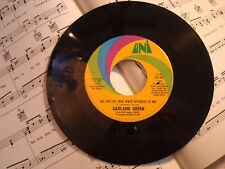 Garland Green - ALL SHE DID / DON'T THINK THAT I'M A VIOLENT GUY 45rpm record VG