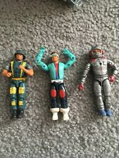 Vtg G.I. JOE Remco American Defence Lot Soldier Space Astronaut Cyclops Figures