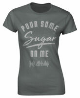 Def Leppard 'Pour Some Sugar On Me' Womens Fitted T-Shirt - NEW & OFFICIAL
