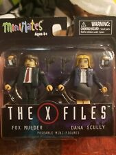 Minimates The X Files Fox Mulder and Dana Scully- Complete Set