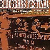 (A8) Bill Monroe/Eric Darling, bluegrass festival , 2001 18 track cd album. NEW