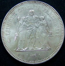 More details for france  - large silver 50 francs hercules  .900 silver ..........s97