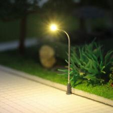 LQS05WM 10 Stk. Peitschenlampen LED 42mm N / Z Straßenlampen flexible Höhe NEU