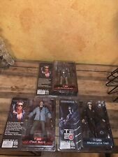L@@K NECA Reel Toys Terminator T2 T-800, T-1000 Action Figures Lot New