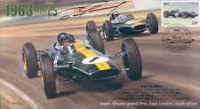 1963c LOTUS-CLIMAX, BRABHAM-CLIMAX, SOUTH AFRICA F1 cover signed DAN GURNEY