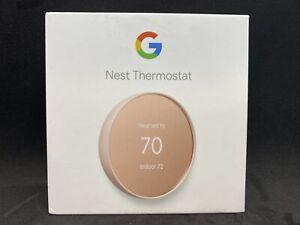 Google Nest Smart Thermostat, Sand - GA02082-US G4CVZ