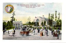 "1908 Alaska YUKON Pacific EXPO ""Lake Washington Avenue"" Postcard"