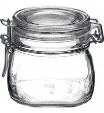 1 x Bormioli Rocco Fido Swing Top Preserving Bottle Jar 500ml