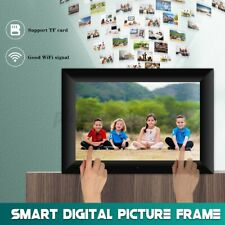 10'' Smart WiFi Digital Picture Frame Send Photos Touch Screen LCD Panel