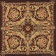 "20"" DECORATIVE TAPESTRY PILLOW COVER Medieval Ornament EUROPEAN CUSHION ACCENT"
