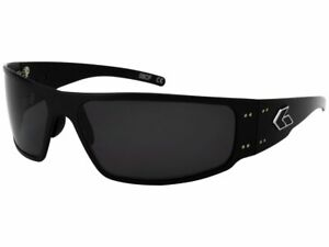 Gatorz Magnum Black Smoked Polarized Lenses Sunglasses (MAGBLK01P)