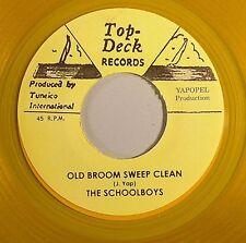 THE SCHOOLBOYS - OLD BROOM SWEEP CLEAN (TOP TECK) 1964