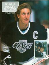 1990 Beckett Hockey Magazine Premier Issue Wayne Gretzky/Patrick Roy/Gordie Howe