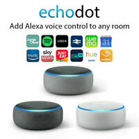 NEW Amazon Echo Dot 3rd Generation Smart speaker with Alexa - Black/Grey/White