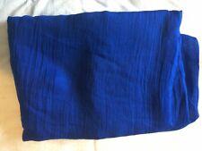 Beautiful Beach Sarong Cover-up wrap ROYAL BLUE MID BLUE