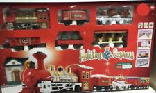 Noël NEW Holiday Express Tree Train Set lumières/Motion Transport Station