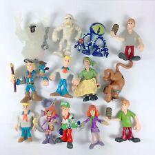 Lot of 13pcs Scooby Doo Crew Mystery Mates Mummy Phantom Monster Alien Man