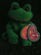 "Beautiful Plush 7"" Full O' Beans Frog Doll By Avon 1999 NEW WITH TAG LOW PRICE!!"