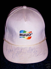 RUSTY WALLACE autographed hat NASCAR 4 drivers