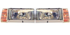 VOLVO 740 1983-89 and 760 1984-86 headlight conversion set european h4 complete