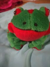 "B J Toy Co Inc Frog Plush 8"" L"