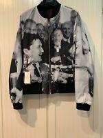 Dries van Noten Jacket Reversible w/Marilyn Monroe Print, M