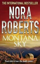 Montana Sky, By Nora Roberts,in Used but Acceptable condition