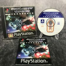 Colony Wars Vengeance PS1 PlayStation 1 PAL Game Complete Black Label Shooter