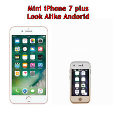 Mini SmartPhone Gift for Kids, World's Smallest iPhone 7plus Look Alike Android