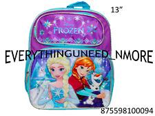 Frozen Ana Y Elsa Toddler School Backpack 13� 0094