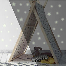 GLOW IN THE DARK STARS wall stickers 60 decals Nursery Bedroom decor Celestial
