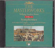The Masterworks Vol. 3-Wolfgang Amadeus Mozart Symphonies K385,K504,K550 CD