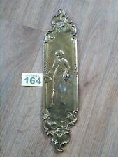 Antique Brass Door Finger Plate