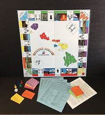 Discover Hawaii With United Airlines Reach Aloha Square Board Game Complete 1981