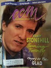CCM Magazine Christian Music 1990 Vintage Randy Stonehill Stryper Jesus Music