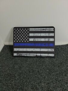 AMERICAN POLICE BLUE LINE FLAG IPAD PRO CASE FOR 9.7 10.5 MINI 4