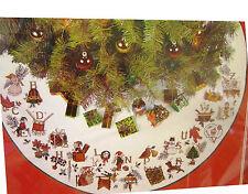Needle Treasures 02969 CHRISTMAS ALPHABET Cross Stitch Tree Skirt Sealed