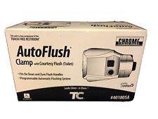 NEW TECHNICAL CONCEPTS TC AUTO FLUSH 401805 CLAMP ON FLUSH SYSTEM 401805A CHROME
