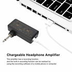Guitar Headphone Amplifier Chargeable H8 Headphone Sound Card Amp Free Shipping for sale