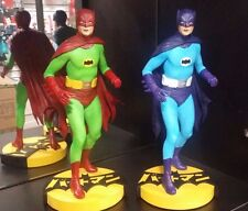 Adam West Tweeterhead Batman SHOWA EXCLUSIVE Set of 2 Hot Toys Maquette Diorama