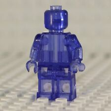 NEW Blank Transparent Purple Minifigure Compatible with Lego