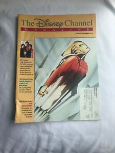 The Disney Channel Magazine Aug/Sept 1992 The Rocketeer