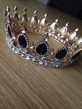 Completo Deep Purple CORONA. corona/boda de concurso de belleza corona/Etapa. completo