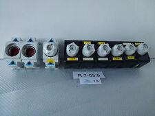 9 x Base de fusible/Base de fusible pour Montage sur rail din