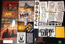 Harry Potter Scrapbook  Kit! Project Life Universal Studio Wizard Paper die cuts